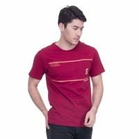 Baju Kaos Tshirt Pria Seyes 1026 Merah Katun Premium