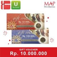 Voucher MAP Rp 10.000.000