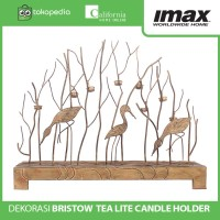 Tempat Lilin Import Bristow Tea Lite Candle Holder By Imax Home
