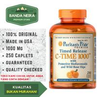 Puritan's Pride Vitamin C 250 Kaplet 1000 Mg Bioflavonoids & Rose Hip