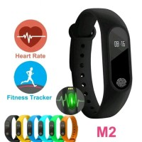 New Smart Watch M2 Sport Jam Tangan Pintar Smartwatch Smart Mi Band 2