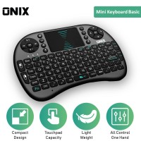 Onix Mini Wireless Keyboard Basic - Touchpad for KODI, PC and TV Box