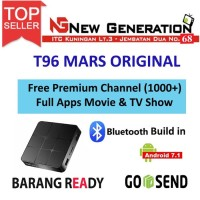 T96 MARS ANDROID TV Box 4K Bluetooth H.265 Quadcore S905W 2GB/16GB