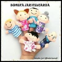 Paket Hemat Boneka Jari 2 In 1 Animal   Family f2084925df