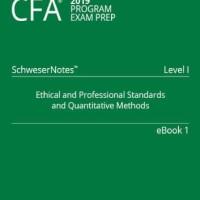 CFA 2019 Schweser - Level 1 SchweserNotes Book 1-5 + QuickSheet