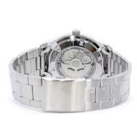 Jual jam tangan ori Seiko 5 SNKP11K1 Automatic Silver Dial Black Stainless Murah