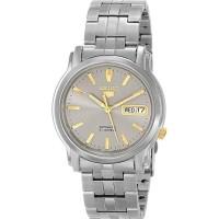 Jual jam tangan ori Seiko 5 SNKK67K1 Automatic Grey Stainless Steel Watch Murah