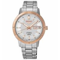 Jual jam tangan ori Seiko 5 SNK894K1 Automatic Silver Ring Rosegold Murah