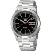 Jual jam tangan ori Seiko 5 SNKE53K1 Automatic Silver Dial Black Stainless Murah