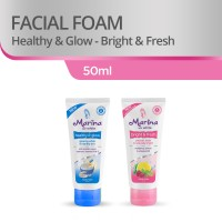 Marina Facial Foam [50 mL/2 Pcs] - Blue and Pink