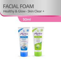 Marina Facial Foam [50 mL/2 Pcs] - Blue and Green