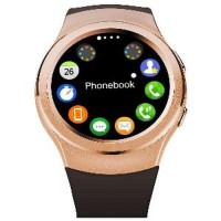 Smartwatch G3 New Android Watch- Heart Rate - GSM - Gold Berkualitas