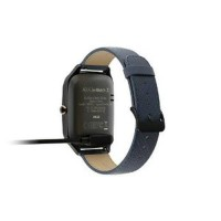 Smartwatch ASUS ZenWatch 2 , color GUN strap Leather Dark Berkualitas