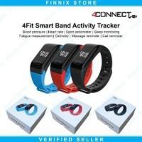 Smartwatch 4Connect 4Fit Blood Pressure And Oxygen Monitor Berkualitas