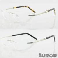 Kacamata Frameless FL3 + Lensa Essilor Airwear Prevencia anti Blue Ray d9100e595d