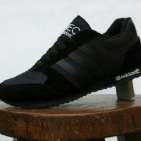 Harga Adidas Neo City Racer Black Hargano.com