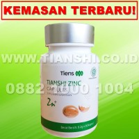 BISA GOJEK Zinc Tiens (Tianshi) | Vitamin Hormon | Daya Tahan Tubuh
