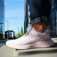 Sepatu Nike Epic React Soft Pink Woman Premium Sneakers Kuliah Casual