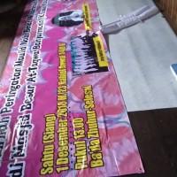 Cetak spanduk / banner / MMT / baliho (Gratis Design)