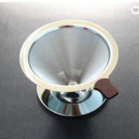 v60 metal/v60 stainless coffee dripper coffee maker
