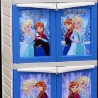 (Ojek Only) Lemari Plastik Napolly Frozen BCBC X12