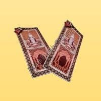Sajadah Cantik Grosir Motif Kuba Coklat 0852-2765-5050