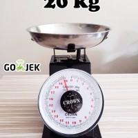 Timbangan Besi 20 kg / Alat timbang duduk jarum dapur kue serbaguna
