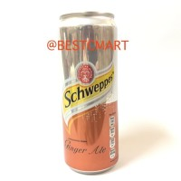 SCHWEPPES GINGER ALE 330 ML (CARBONATED DRINK)