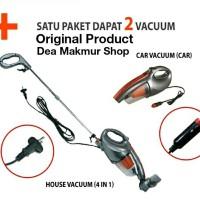 Boombastic 4 in 1 Vacuum Cleaner Vacum Bombastic Mobil Rumah