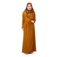 Muslimore Baju Muslim Wanita Gamis Kubus Tua Polos Balotelli XNB-13