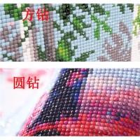 jual lukisan diamond 5d gambar kupu-kupu warna ungu untuk