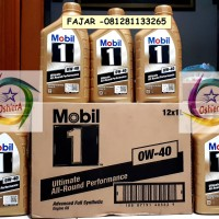Oli Mobil 1 0W-40 Ultimate All Round Performance (1L)