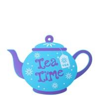 Harga pot mat teapot blue | antitipu.com