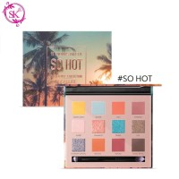 FOCALLURE FA50 SO HOT Eyeshadow Palette 12 Colors