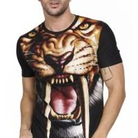 Harga baju kaos pria singa macan harimau tiger 3d animal binatang   antitipu.com