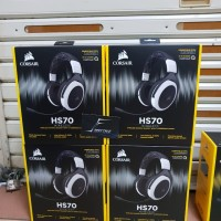Corsair HS70 White Wireless Gaming Headset Garansi Resmi DTG 2 Tahun
