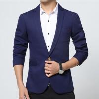 Fashion Pria - Jas Pria Cool Blue Korean Style