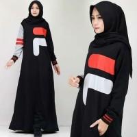 Best Seller Baju Gamis Murah Logo Fila Dress