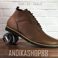 Sepatu boots pria semi kulit brodo original handmade sepatu boot d667aaa146