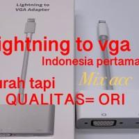 Lightning To VGA Adapter / apple lightning to vga adapter MODEL ORI