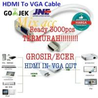HDMI TO VGA CONVERTER / HDMI TO VGA ADAPTER / Kabel HDMI to VGA Female