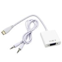 Kabel mini Hdmi to Vga with audio