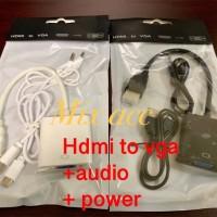 Hdmi to vga audio + power / ps3 to vga / ps4 to vga/ ps to vga