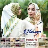 Hijab Segi Empat Naraya Adeeva Square Hijab Jilbab Segiempat Tudung 06