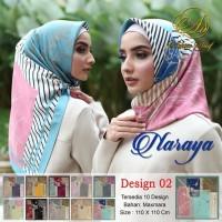 Hijab Segi Empat Naraya Adeeva Square Hijab Jilbab Segiempat Tudung 2
