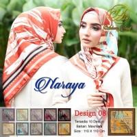 Hijab Segi Empat Naraya Adeeva Square Hijab Jilbab Segiempat Tudung 08