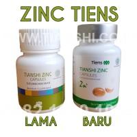 Zinc Tiens (Tianshi) | Vitamin Hormon & Pertumbuhan | Daya Tahan Tubuh
