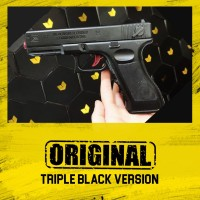 ORIGINAL Glock Triple Black Edition [Pistol Senjata Mainan]