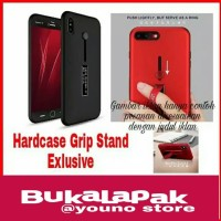 Oppo F7 Hardcase Case Grip Stand Cover