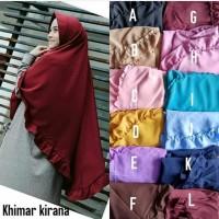 Khimar Kirana / pet jumbo kriwil Termurah